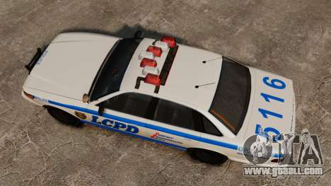 A New Police Cruiser for GTA 4 right view