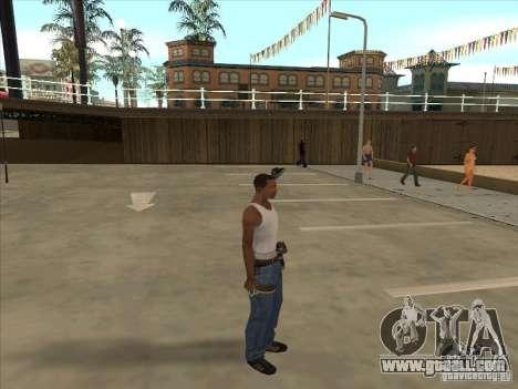 Tennis racquet for GTA San Andreas second screenshot