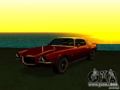 Chevrolet Camaro Z28 1972 for GTA San Andreas left view