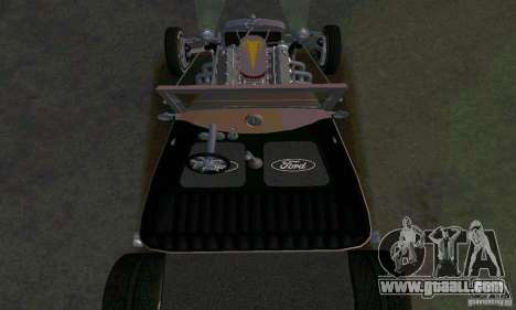 Ford T 1927 Hot Rod for GTA San Andreas upper view