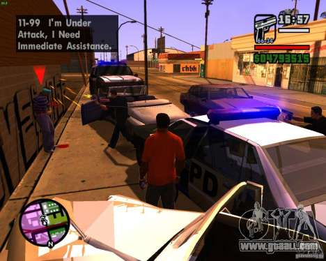 Chasing machines for GTA San Andreas forth screenshot