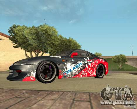 Toyota Supra by Cyborg ProductionS for GTA San Andreas inner view