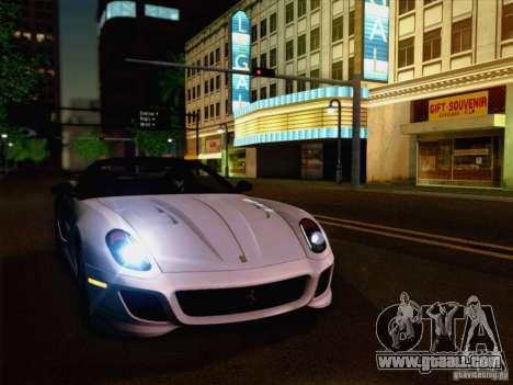 New Car Lights Effect for GTA San Andreas second screenshot