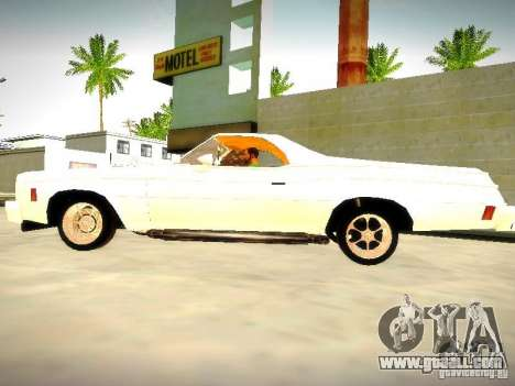 Chevrolet El Camino 1976 for GTA San Andreas left view