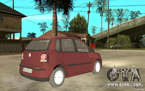 Volkswagen Polo 2006 for GTA San Andreas right view