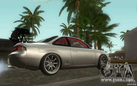 Nissan Silvia S14 Zenkitron for GTA San Andreas back view