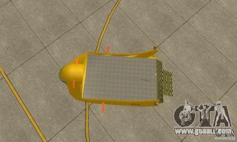 Aerial Platform Air Carrier for GTA San Andreas back view