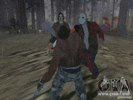 Scary Town Killers for GTA San Andreas second screenshot