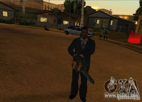 Pak Domestic weapons version 6 for GTA San Andreas fifth screenshot