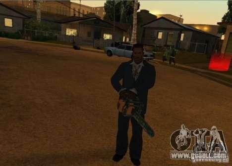 Pak Domestic weapons version 6 for GTA San Andreas fifth screenshot