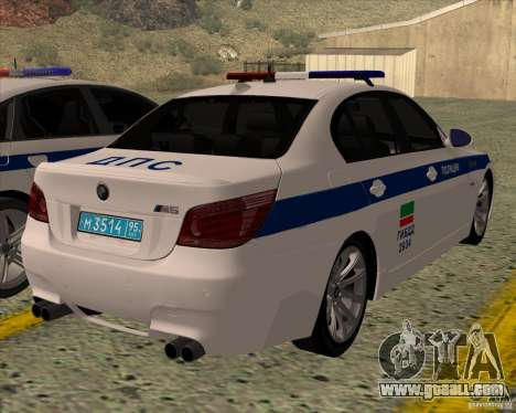 BMW M5 E60 DPS for GTA San Andreas left view