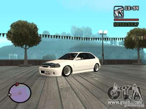 Honda Civic EK9 JDM for GTA San Andreas