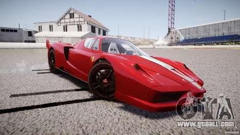 Ferrari FXX for GTA 4 side view
