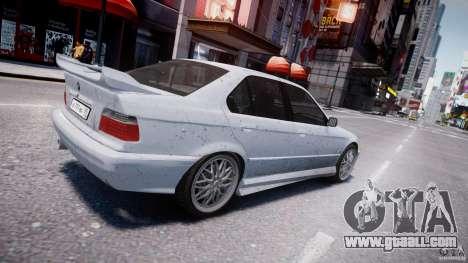 BMW 318i Light Tuning v1.1 for GTA 4 bottom view