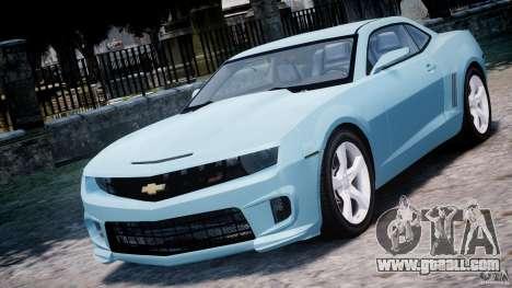 Chevrolet Camaro SS 2009 v2.0 for GTA 4