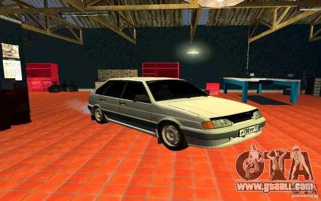 Ваз 2114 Russian for GTA San Andreas