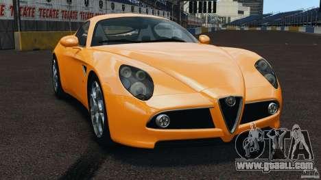 Alfa Romeo 8C Competizione for GTA 4
