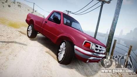 Ford Ranger for GTA 4 upper view