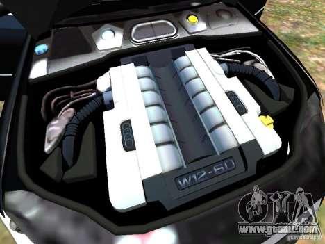 Audi A8L W12 for GTA 4 interior