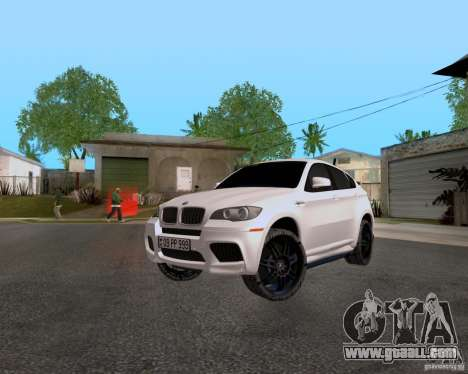 BMW X6 for GTA San Andreas