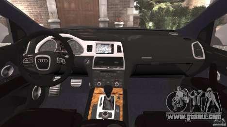 Audi Q7 V12 TDI v1.1 for GTA 4 back view