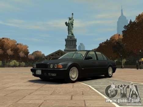 BMW 750i (E38) 1998 for GTA 4