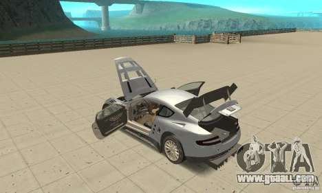 Aston Martin DBR9 (v1.0.0) for GTA San Andreas inner view