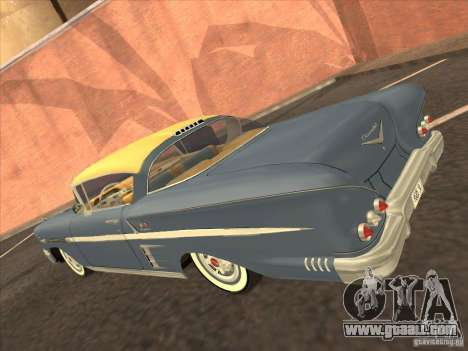 Chevrolet Impala 1958 for GTA Vice City back left view
