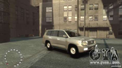 Toyota Land Cruiser 200 2010 for GTA 4