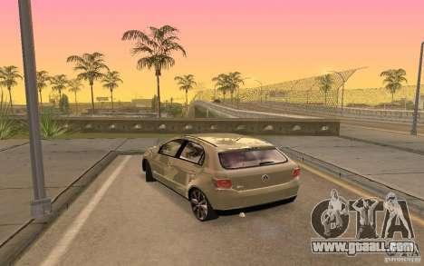 Volkswagen Gol G6 for GTA San Andreas left view