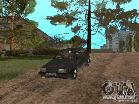 Vaz-2109 Sputnik 1987 v1.2 for GTA San Andreas side view