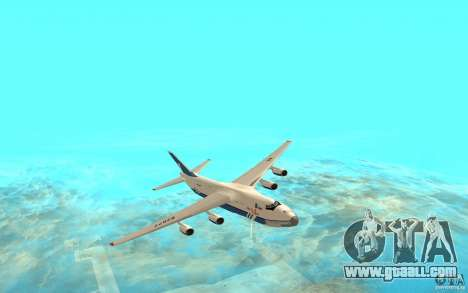 The an-124 Ruslan for GTA San Andreas