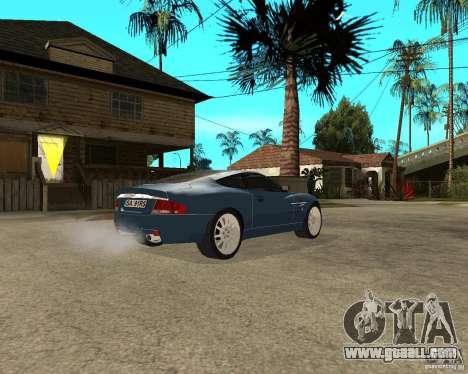 Aston Martin Vanquish for GTA San Andreas right view