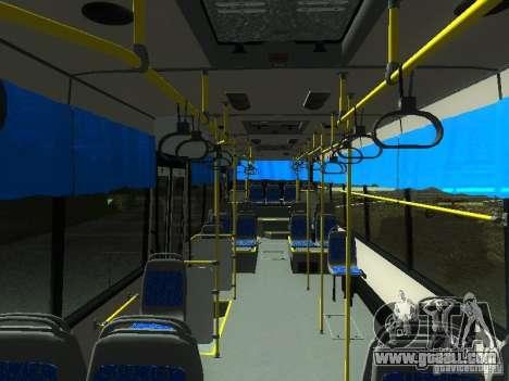 Nefaz 5299 10-32 for GTA San Andreas inner view