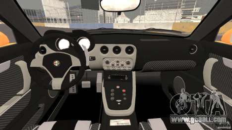 Alfa Romeo 8C Competizione for GTA 4 back view