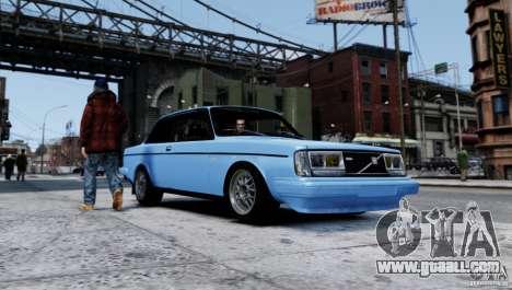 Volvo 242 v2 for GTA 4 left view