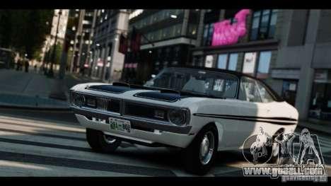 Dodge Demon 1971 for GTA 4 inner view
