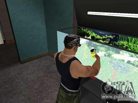 Aquarium for GTA San Andreas fifth screenshot