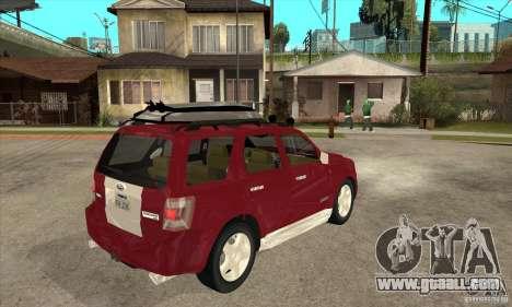Ford Escape 2009 for GTA San Andreas right view