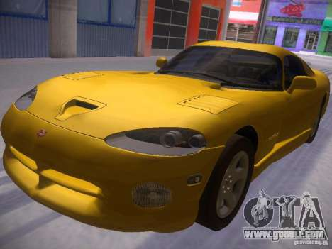 Dodge Viper 1996 for GTA San Andreas