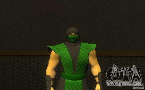 Retro Reptile mk for GTA San Andreas