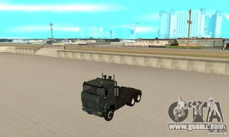 KAMAZ 65226 Tai v1.1 for GTA San Andreas left view
