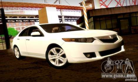 Acura TSX V6 for GTA San Andreas