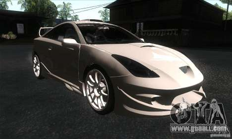 Toyota Celica-SS2 Tuning v1.1 for GTA San Andreas back view