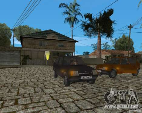 ZAZ 1102 Tavria for GTA San Andreas left view
