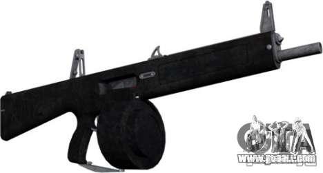 The AA-12 shotgun for GTA San Andreas