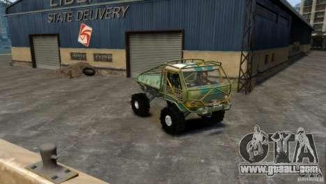 UAZ Goliath Prototype for GTA 4 back left view