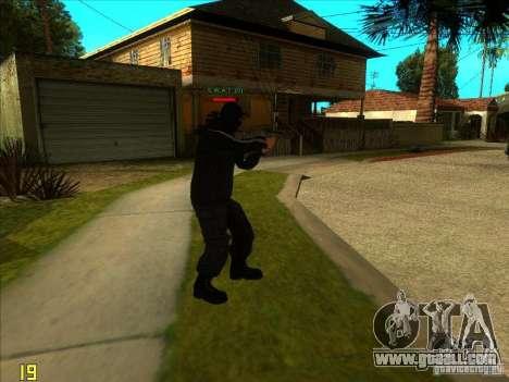 SkinHead (Football fan) for GTA San Andreas third screenshot