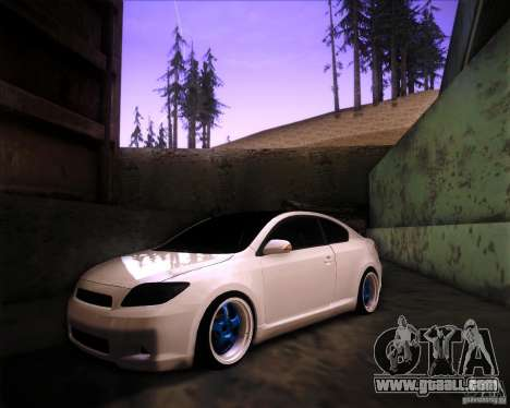 Scion tC Blue Meisters for GTA San Andreas
