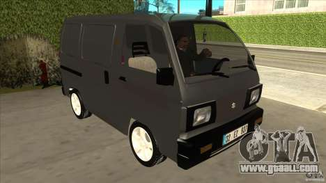 Suzuki Carry Blind Van 1.3 1998 for GTA San Andreas back view